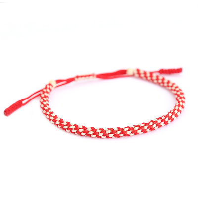 Armband buddhist red