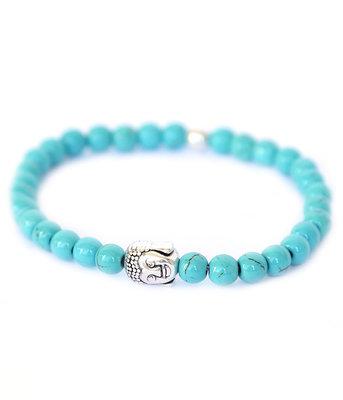 Buddha armband turquoise stone