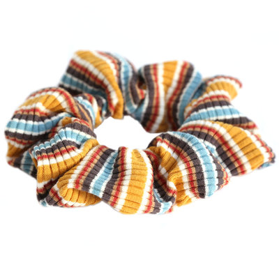 Scrunchie jersey stripe