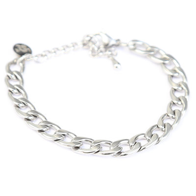 Armband Chain zilver