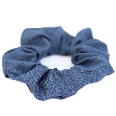 Cotton scrunchie Denim