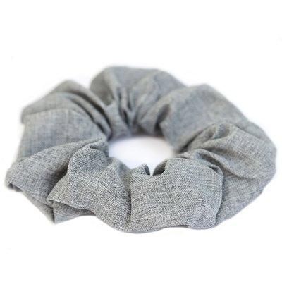 Cotton scrunchie Grey