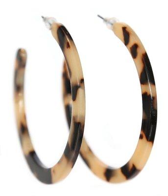 Oorbel - Leopard