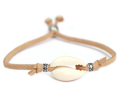 Schelp armbandje beach naturel