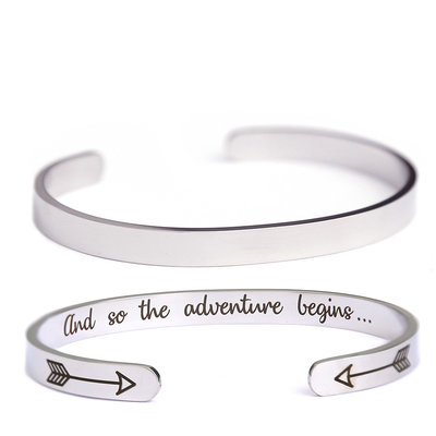 Armband Adventure silver
