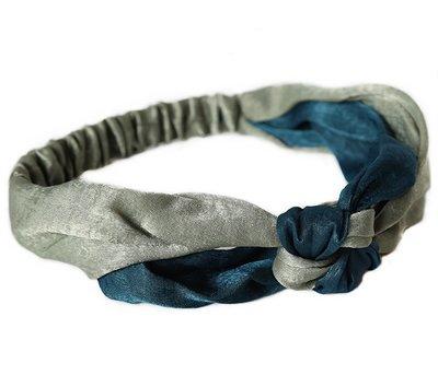 Haarband Indigo silk