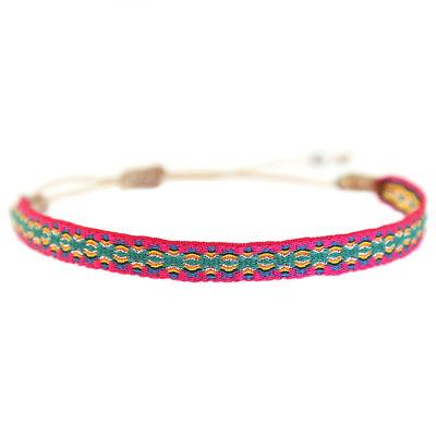 Armband Aztec pink