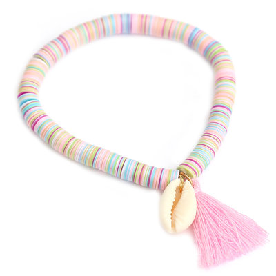 Armband shell flakes pastel