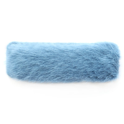Haarclip fluffy blue