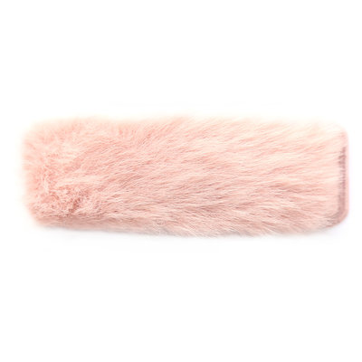 Haarclip fluffy rose