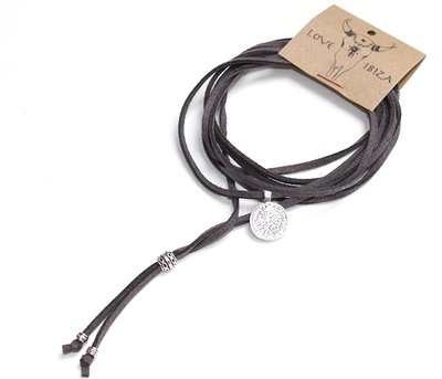 Long Choker - Grey