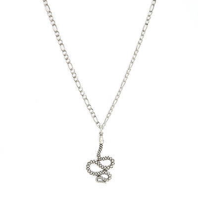 Ketting snake silver