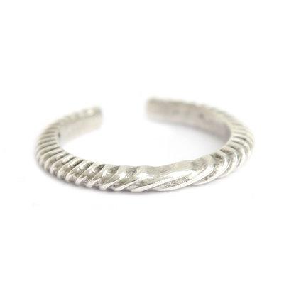 Ring silver pattern