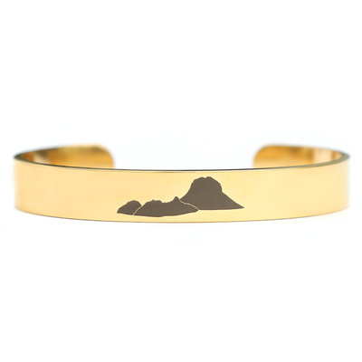 Es Vedra armband goud
