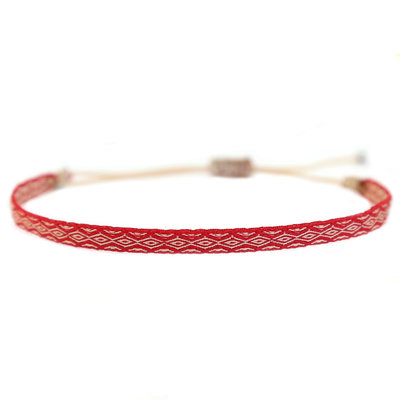 Armband Aztec red