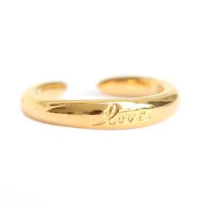 Ring love gold