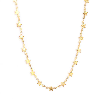 Ketting Sky full of stars gold