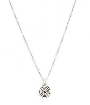 Ketting Circle silver