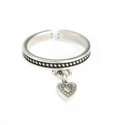Ring Heart silver