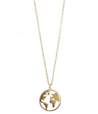Ketting Earth gold