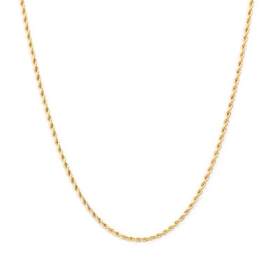 Ketting twisted gold