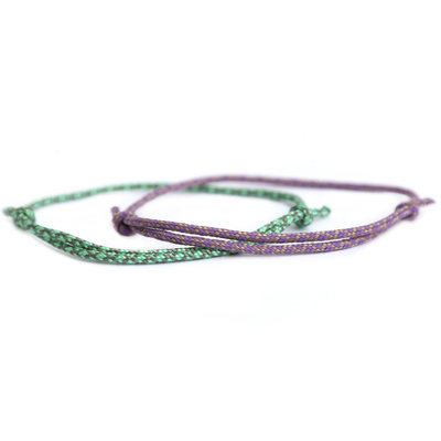 Armbanden set surf culture lilac
