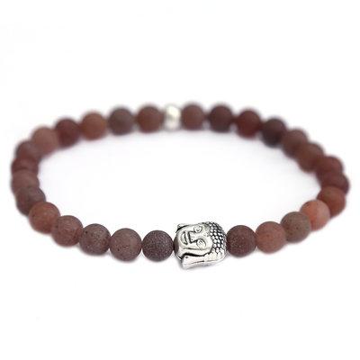 Armband buddha brown