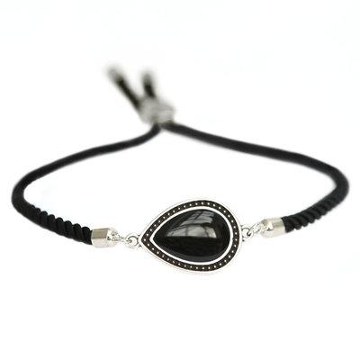 Armband Versailles black silver