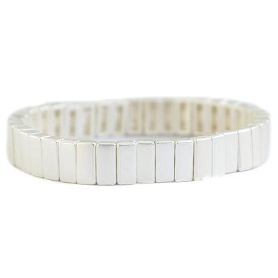 Armband matte silver