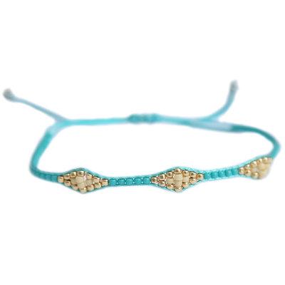 Armband miyuki Ibiza turquoise