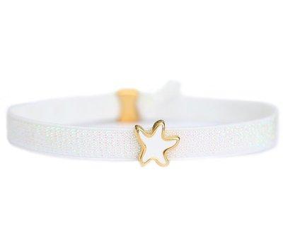 Enkelbandje White star