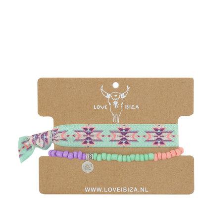 Inca pastel set