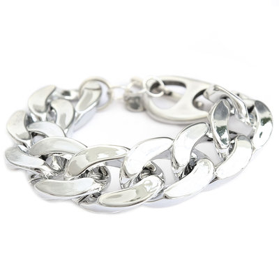 Armband large chain silver