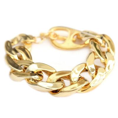 Armband large chain gold