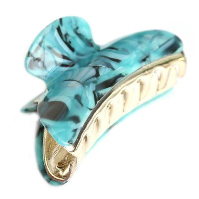 Haarklem marble blue