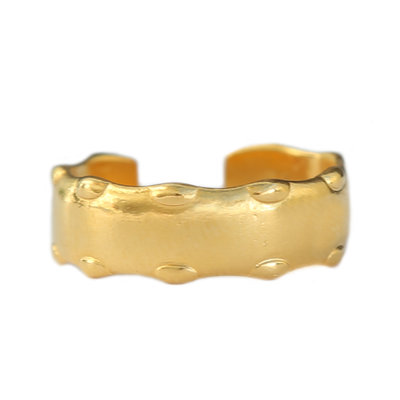 Ring dots gold