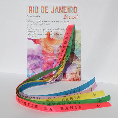 Bonfim de Bahia wish armbandjes set No. 1