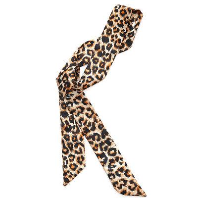 Zijden sjaaltje leopard