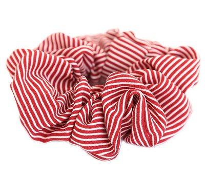 Scrunchie stripe red