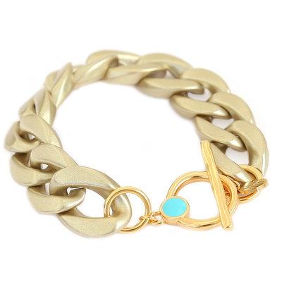 Armband chain matte gold