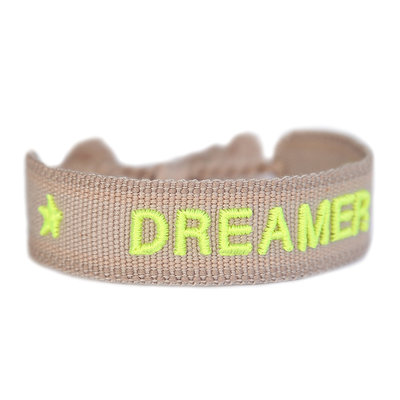 Geweven armband DREAMER