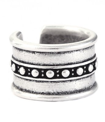 Ring Warrior silver