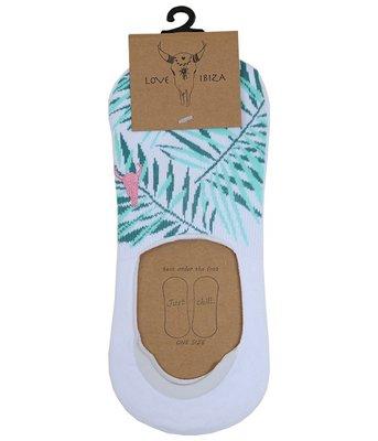 Sneakersokken palm