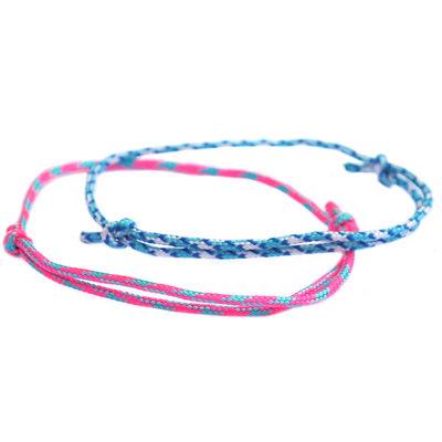 Armbanden set surf culture blue