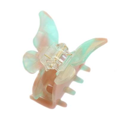 Haarklem butterfly azur