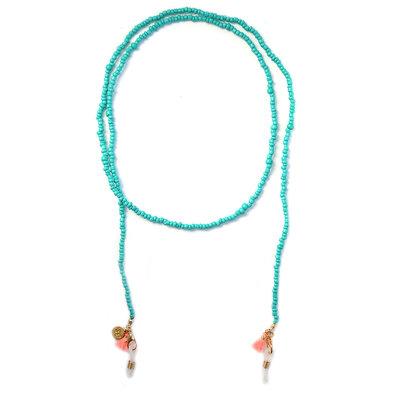 Zonnebrilkoordje turquoise
