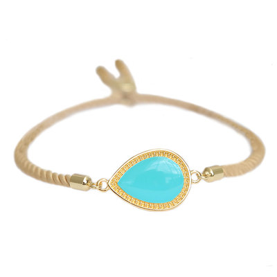 Armband Versailles turquoise gold