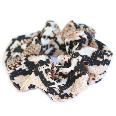Satijnen scrunchie python