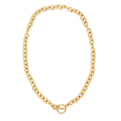 Ketting chain trend gold