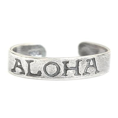 Teenring Aloha (echt zilver)